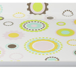 CULT DESIGN Poppy Fika bricka pastell